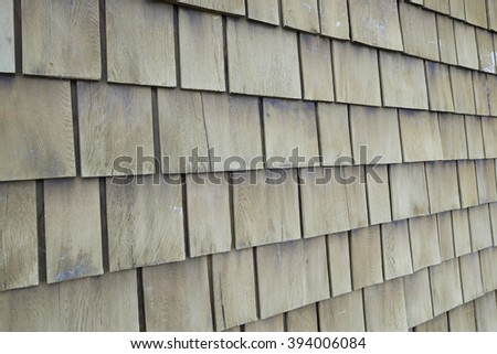 wooden wall,shots from side view
