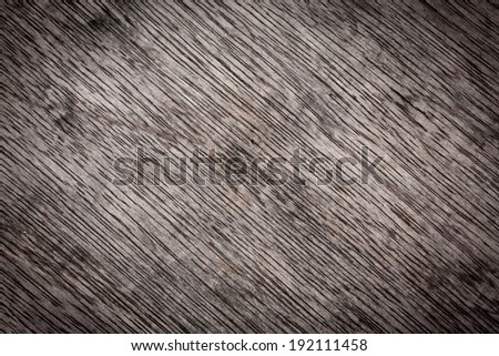 Wooden wall texture, brown wood background with natural patterns - stock photo