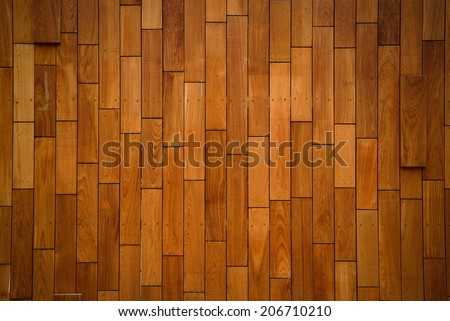Wooden wall/wooden tiles. - stock photo