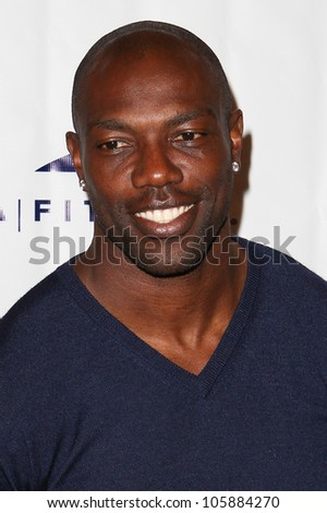WOODLAND HILLS, CA - JUNE 02: Former NFL star Terrell Owens arrives at the grand opening of the LA Fitness Signature Club on June 2, 2012 in Woodland Hills.