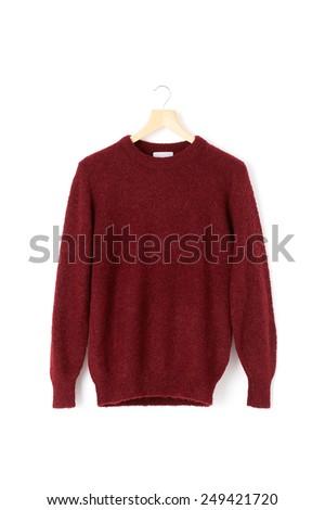 wool sweater - stock photo