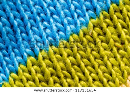 Wool,  textile textured background - stock photo