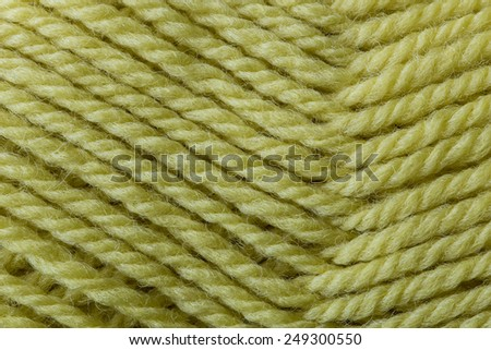 Wool yarn close up background texture