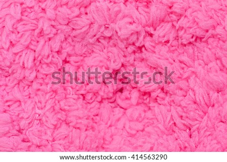 Woolen pink background.