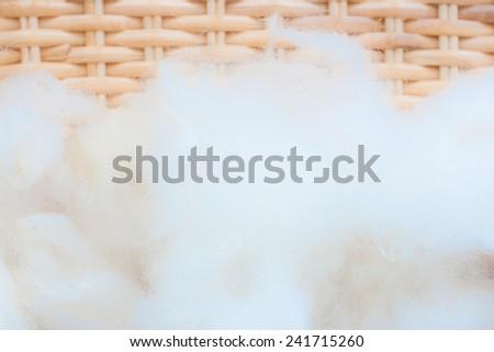 woolen texture - stock photo