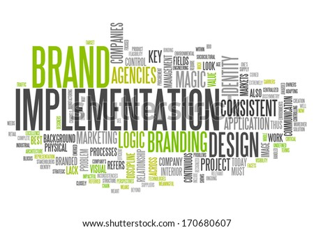 Word Cloud Brand Implementation
