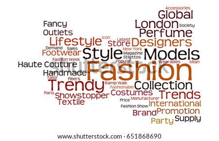 Fashion Synonyms, Fashion Antonyms 98