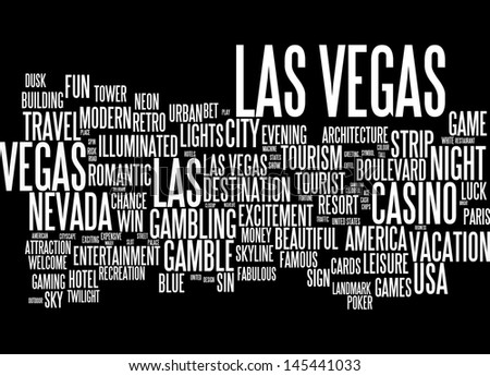 Word cloud -  Las Vegas