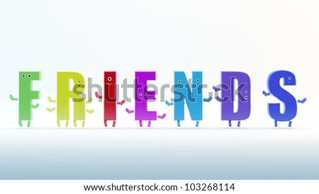 Friends Word Stock Images, Royalty-Free Images & Vectors ...
