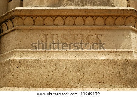 Word Justice Carving