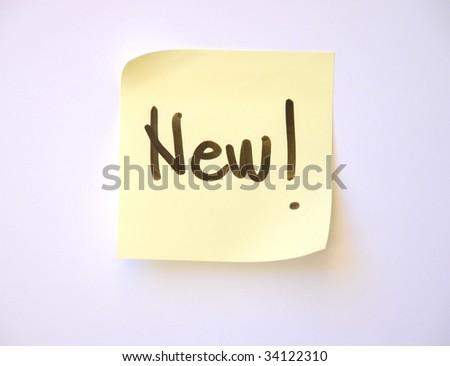 word new handwritten - stock photo