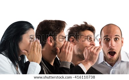 Word of mouth - stock photo