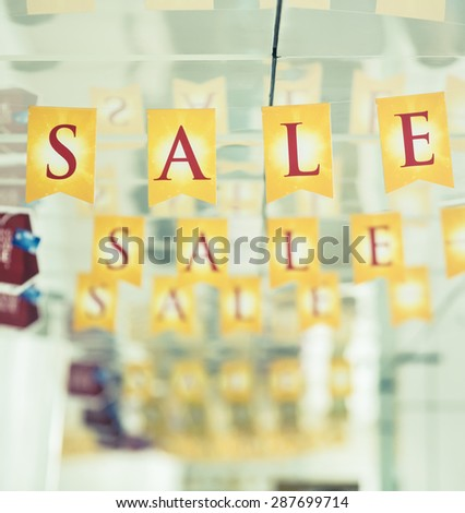 word sale - stock photo