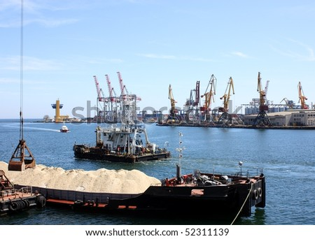work in harbor