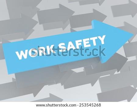 WORK SAFETY - stock photo