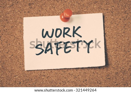 work safety - stock photo