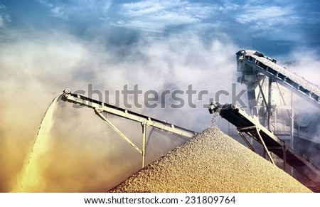 Work site industrial background  - stock photo