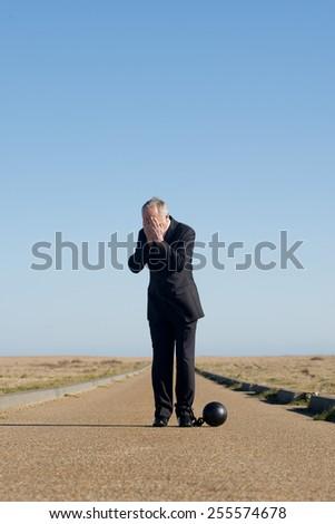 Work Stress - stock photo