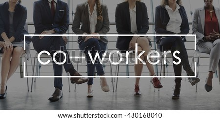Work Team Business Career Concept