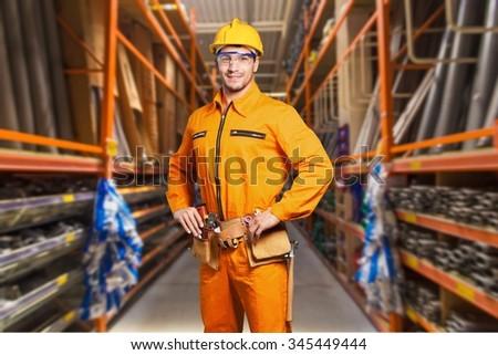 Worker. - stock photo