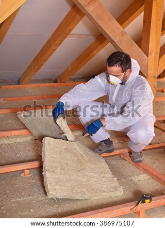 Insulation stock photos royalty free images vectors for Wool house insulation