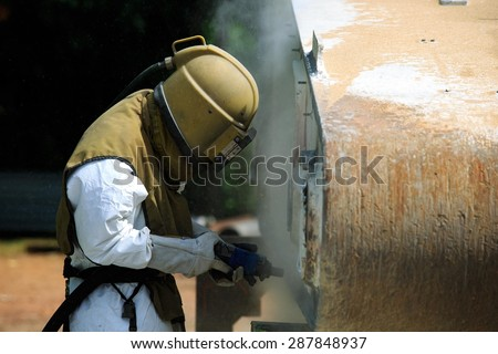 Sandblasting Stock Images Royalty Free Images Vectors Shutterstock