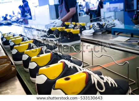 shoe industry Companies in the shoe stores industry primarily sell casual, dress, and athletic shoes, including orthopedic shoes, from physical retail locations.