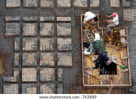 workers II - stock photo