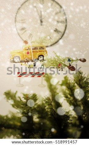 Christmas Rush Stock Images, Royalty-Free Images & Vectors ...