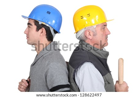 Workers with age difference