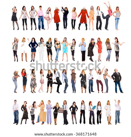 Workforce Concept Teamwork Achievement  - stock photo