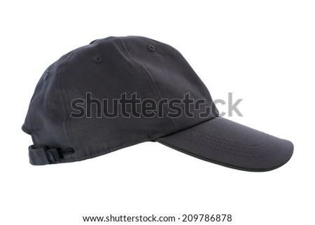 Working  cap on white background - stock photo