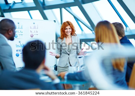 Working in team - stock photo