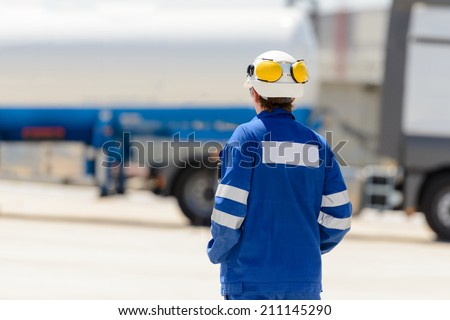 Working in the enterprise - stock photo