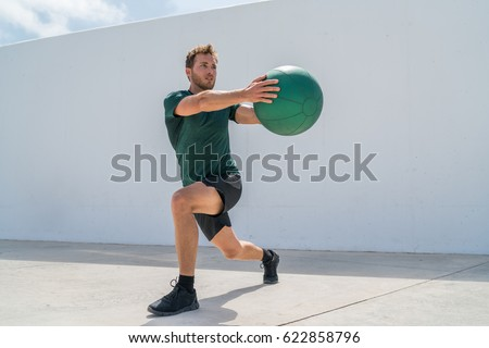 Working Out Man Training Legs Core Stock Photo (Edit Now ...