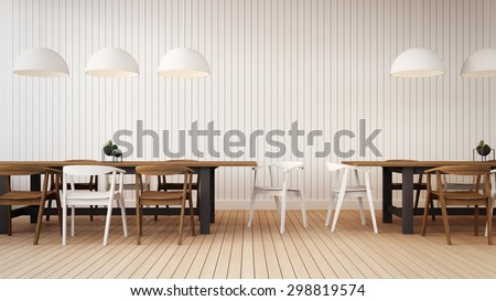 Working set with simple wall / 3D Render Image