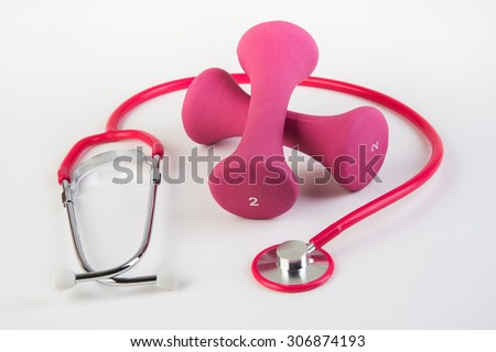 Workout and regular checkups at doctor for safe health