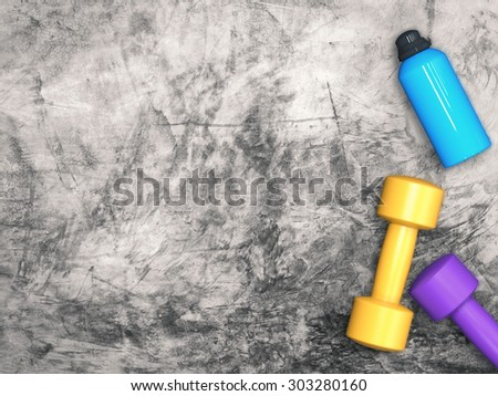 workout concept - stock photo