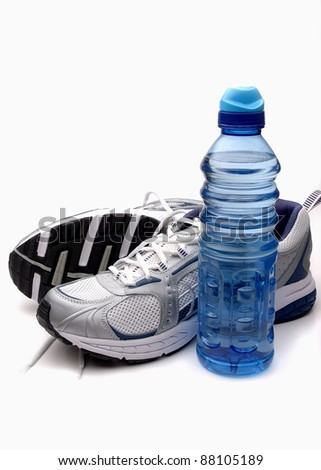 Workout Shoes Water Bottle Stock Photo 88105189 - Shutterstock