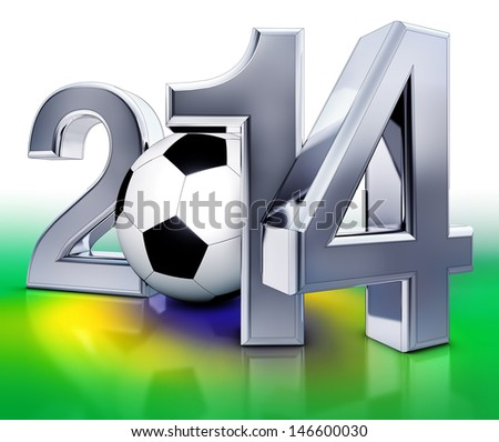 world championship 2014 - stock photo