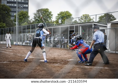 World Championship Softball in Haarlem, August 17 2014, The Netherlands