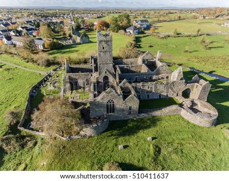 Irish abbey stock images royalty free images vectors for Landscape architect ireland