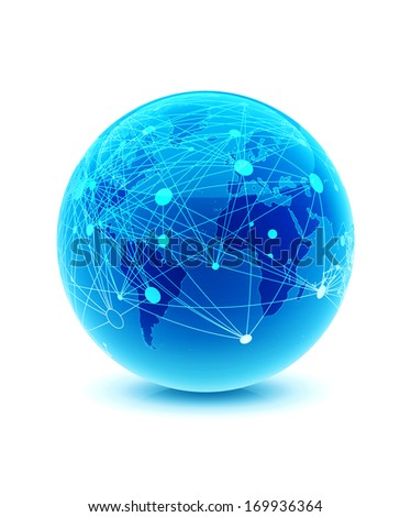 world globe connection