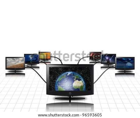 World in screen connected to more
