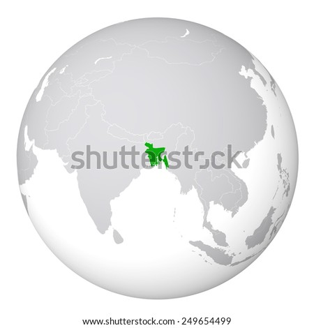 world map bangladesh
