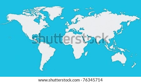 World map computer simulation stock illustration 76345714 shutterstock world map computer simulation gumiabroncs Images