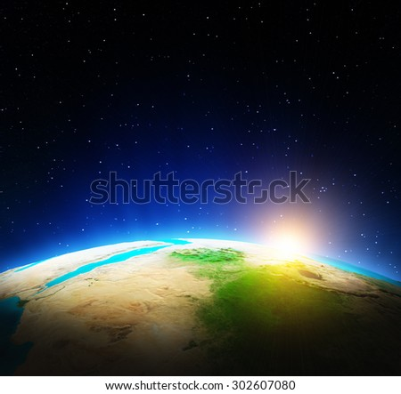 World map. Elements of this image furnished by NASA
