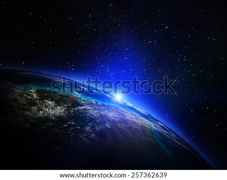 World map space elements this image stock illustration 257362639 world map from space elements of this image furnished by nasa gumiabroncs Gallery