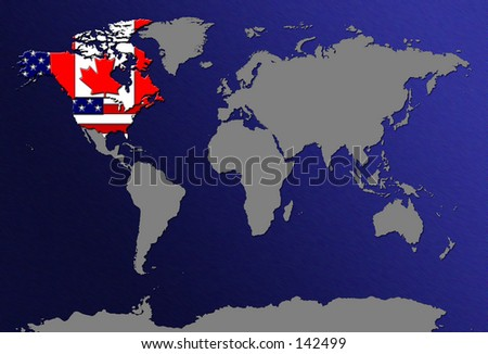 Us Canada Map Stock Images RoyaltyFree Images Vectors - Us and canada maps