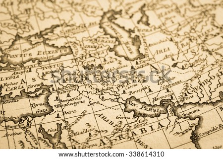 World map antique middle east region stock photo royalty free world map of the antique middle east region gumiabroncs Gallery